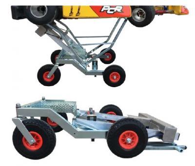 "DALMI TeamLift ""BIGFOOT-ADJUSTABLE"" Electric Kart Stand - Fits BOTH Jr. & Sr. Karts! - Shipping Included (PRE-ORDER, 11/3 ETA)"