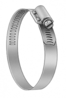 """Stainless Exhaust Hose Clamp - 3.5"""" Diameter"""