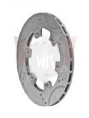 Wildkart Drilled, Grooved & Vented Brake Rotor - 200x12mm
