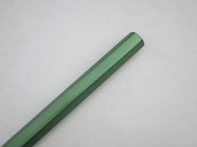 Aluminum Tie Rod - Hex, Green, 290mm (1-pair)