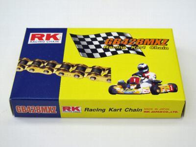 RK GB428MXZ Kart Chain, #428, 60L