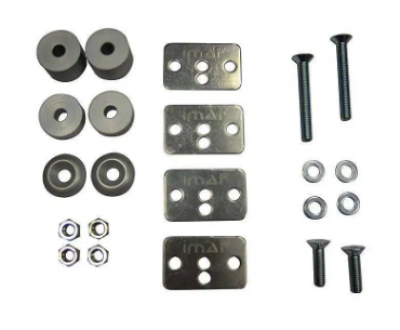 IMAF Seat Fitting Hardware Kit with Plates