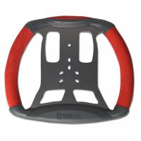 FreeM Steering Wheel for Mychron 4/5 & Alfano Astro/Pro - RED (3 & 6-bolt pattern)
