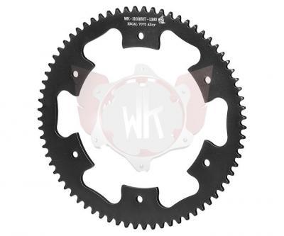 Wildkart, #219 1-Piece ERGAL 7075-T6 Aluminum Sprocket