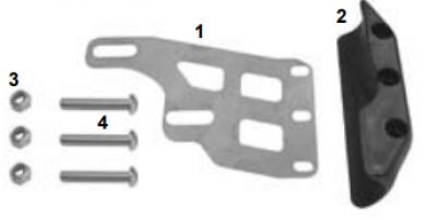 Frame & Brake Disc Protector - (CRG, GP) - OEM