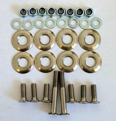 Tillett Seat Fitting Ultra Low Profile Hardware Kit