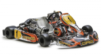 CRG Road Rebel KZ/125 Shifter Chassis (w/ GLM Adjustable Axle) - 1 in STOCK!