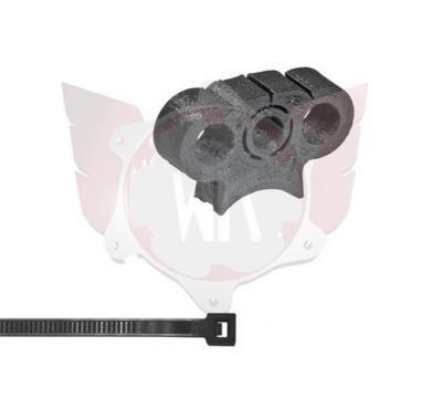SA-072, Wildkart Fuel Line Triple Bracket 10mm - Black