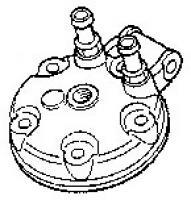 Honda CR125 98-99 Cylinder Head: 12200-KZ4-J00