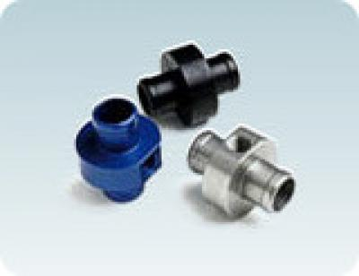 "Mychron Inline Tee - 10mm Sensor, (3/4"" OD) - Silver"