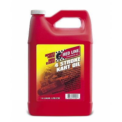 Redline 4-Stroke Kart Oil (5W20) - GALLON - Fastech-Racing